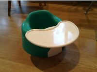 Green bumbo with tray