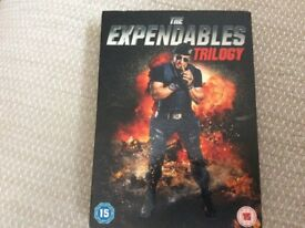 The Expendables Trilogy UNOPENED