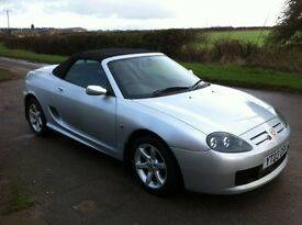MG TF 1.8 Convertible, 2003, New 12 Months MOT