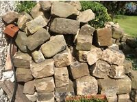 Stones for building