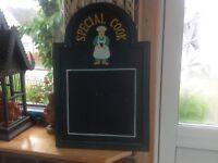 Small notice board