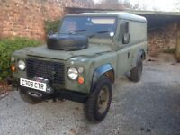 Land Rover 110 Defernder 2.5 200tdi - Ex Military. With Warn Winch