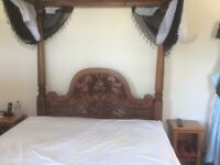 Antique Four poster bed King size