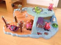 Clangers play set complete with additional clangers