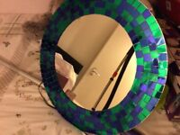 Ikea large mosaic mirror