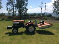 Ride on Tractor with Grass Cutter