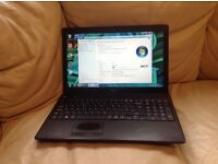 Acer window 7 home edition premium with charger 3.00GB. 2.20GHz. wide screen