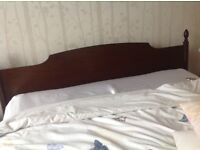 Stag Minstrel dressing table and headboard in good condition