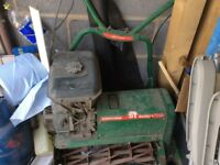 Ransomme 51 Marquis lawn mower. This has been sat in garage so runner or spares