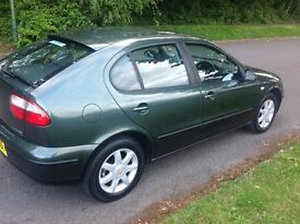 Seat Leon 1.6 5 door family car