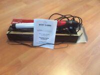 NICKY CLARK DIGITAL PRO CERAMIC WAVING IRON / TONG NEVER USED £5.00