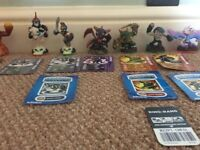 Skylanders bundle of Figures, disks, portal for Wii Platform.