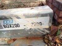 Two 2700mm lintel for sale
