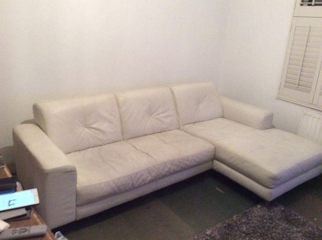 Astonishing Free White Leather Sofa Used And Need Of A Good Clean But Andrewgaddart Wooden Chair Designs For Living Room Andrewgaddartcom
