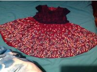 Lovely baby girl party dress 9-12 months