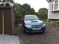 Subaru Legacy diesel. Boxer top. Of range sat nav leather.