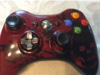 Xbox360 gears of war 3 limited edition controller & charge kit