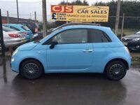 Fiat 500 pop 875 cc petrol 2011 2 owners 40000 fsh mot October fullyserviced real nice we car