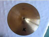 "12"" K Zildjian Custom Dark Splash Cymbal"