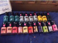 21 mixed nail polish