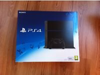 PS4 500gb Brand New & Factory Sealed
