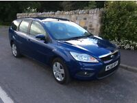 Ford Focus 1.8 DIESEL estate,2009. Long mot and PART EX AVAILABLE...
