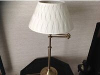 Marks & Spencer Extendable Brass Lamp