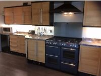 Belling Dual Fuel Range Cooker 7 yrs Old Excellent Condition with Gas Hob, Electric Grill & 2 Ovens