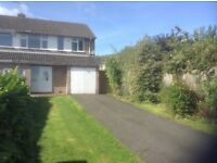 Spacious 3 bed house in quiet area with off road parking for 3 cars.