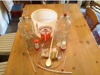 Home brew winemaking equipment complete kit to get started plus more...