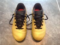 Adidas X 17.4 football boots size 12 gold