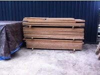2600mm x 900mm x 30mm MDF Sheets Timber Wood Decking Pallet Racking Boards