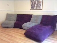 Stylish Togo sofa 4 piece set