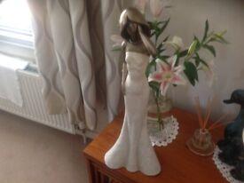 Large lady figurine