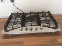 Beaumatic stainless gas hob on good working order reason for selling new induction hob installed