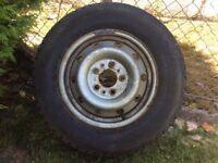 2x firestone tyres 205/75/16