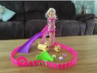 Barbie Dog Park