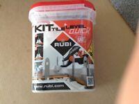 Rubi Tile Levelling Kit (Brand New)