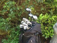 GOLF CLUBS GRAHAM TONGE GT. / PING / TAYLORMADE / COMPLETE SET