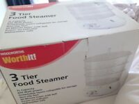 Brand new Electric Food Steamer in original Box