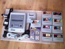 £££ cash paid - I am looking for a SNES SUPER NINTENDO collection. Games, console, and accessories.