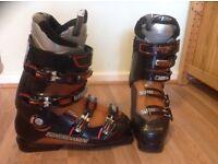 Salomon ski boots size 28, uk size 9.