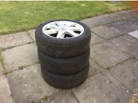 Renault 17 inches alloys wheel