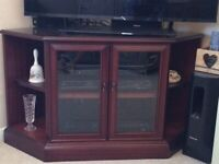 TV cabinet and cupboard/display cabinet