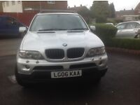 BMW X5 Light 4x4 Utility - good condition - reliable and excellent runner. 11 months MOT