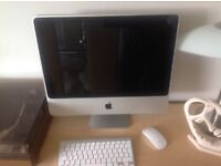 "Apple IMac 20"" 2.4ghz . Mint condition with wireless keyboard & Magic Mouse ."