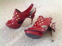 Ladies Carvela high heels size 40