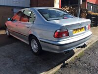 Bmw 523i SE with tow bar and 12 months MOt, done today with no advisories, resent head gasket
