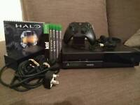 XBOX ONE 1TB (£199 ONO) pre-owned VERY GOOD CONDITION w/ original cables, battery pack & 4 FPS games