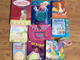 Large Bundle of Kids Books x9 for early learning most of items in excellent condition.
